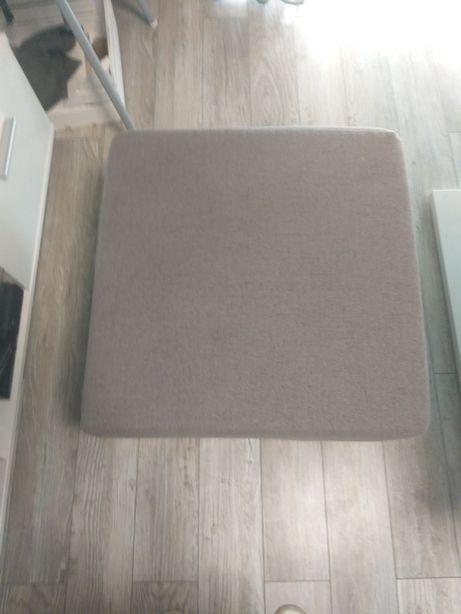 Pufa 65x65 kolor szary