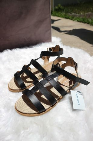Sandálias Romanas - Marypaz (Nunca Usadas)