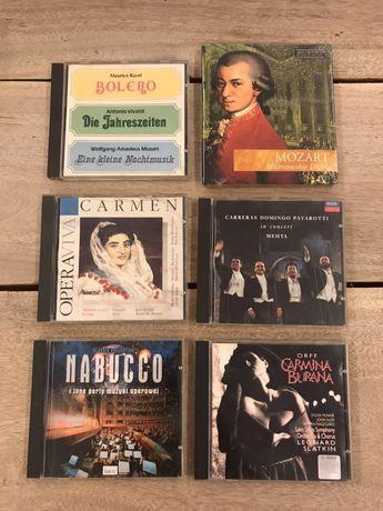 Muzyka klasyczna - zestaw 6 płyt CD