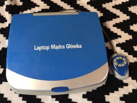 Elektryczny Laptop Mądra Główka, Dwujeznyczny Edukacyjny dla dzieci