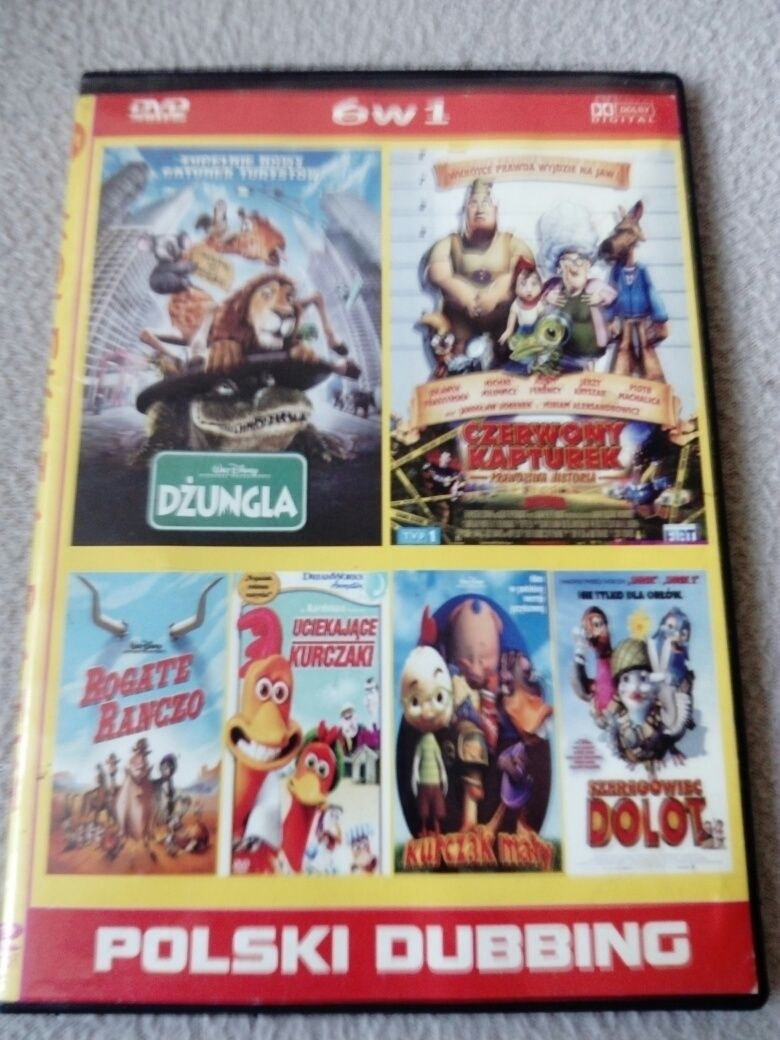 Rogate Ranczo Szeregowiec Dolot Uciekające Kurczaki Kurczak Mały DVD