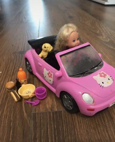 Samochod z lalka i dodatkami - simba