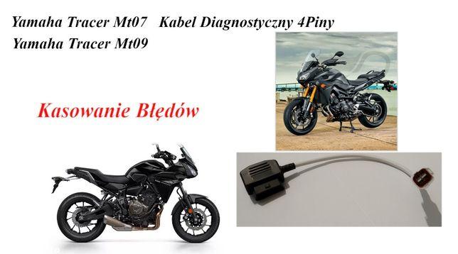 Yamaha OBD2 Kabel Kasowanie Błędów 4 Piny Mt10,Mt09,Mt07,R1,R6 po 2015