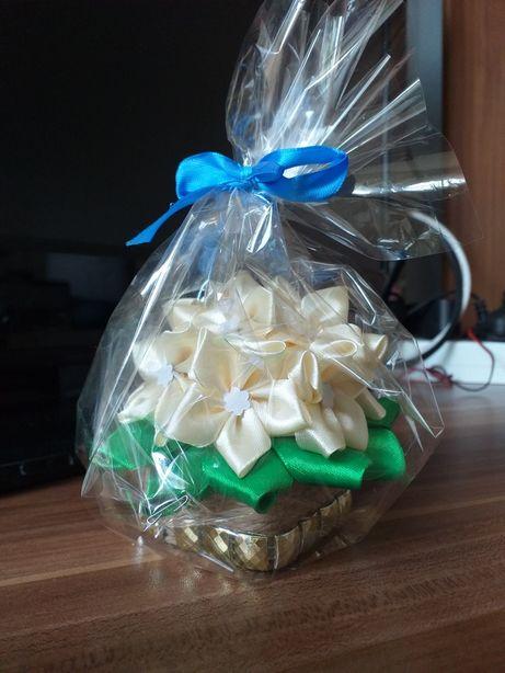 Mini flower box, upominek, podziękowanie