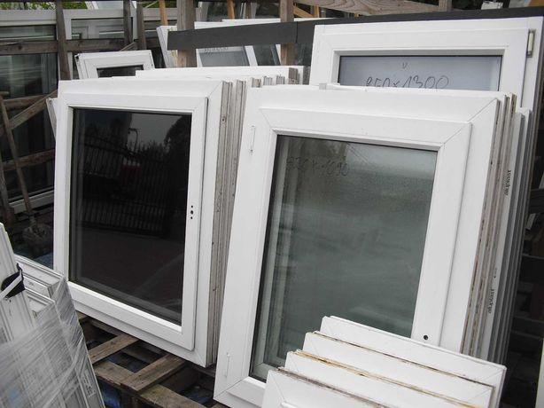 Okna Pcv 1050 x 1100 z Demontażu z Niemiec !Szczecin-Sławociesze!