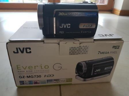 Kamera JVC Everio 30GB HD, komplet, stan idealny