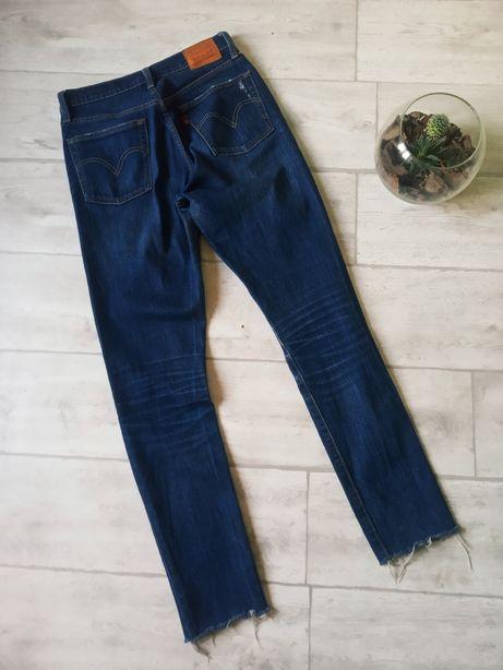 Мужские укороченые зауженные джинсы levis 501 511
