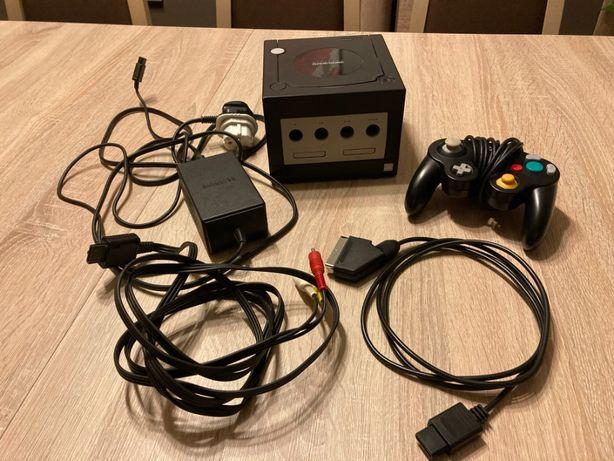 Nintendo GameCube, czarne, 100% sprawne, komplet