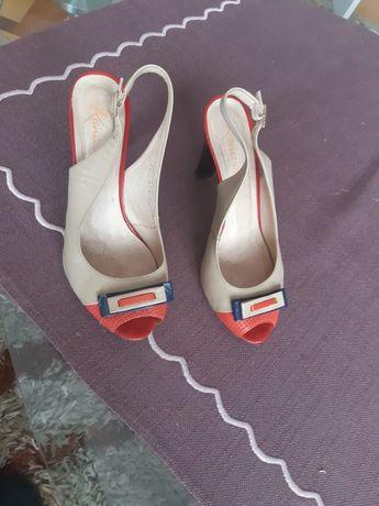 Skórzane sandały Kaniowski 36