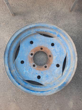Диск колеса переднего МТЗ-80, ЮМЗ 5,5-20 б/у под шину 7.5-20
