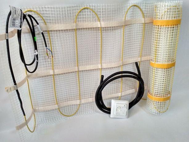 Нагревательный мат In-therm mat (Чехия), 640 Вт, 3,2м2. Теплый пол