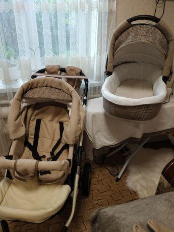 Дитяча коляска 2в1 Deluxe