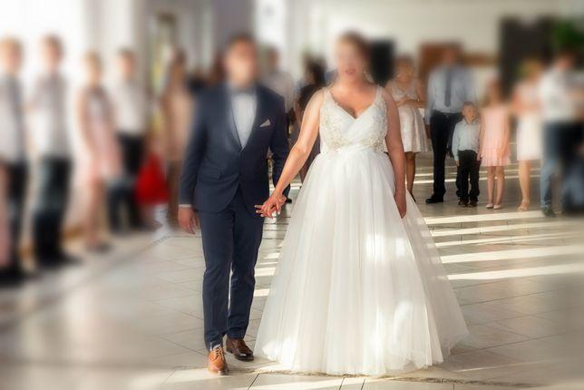 Suknia ślubna na duży biust