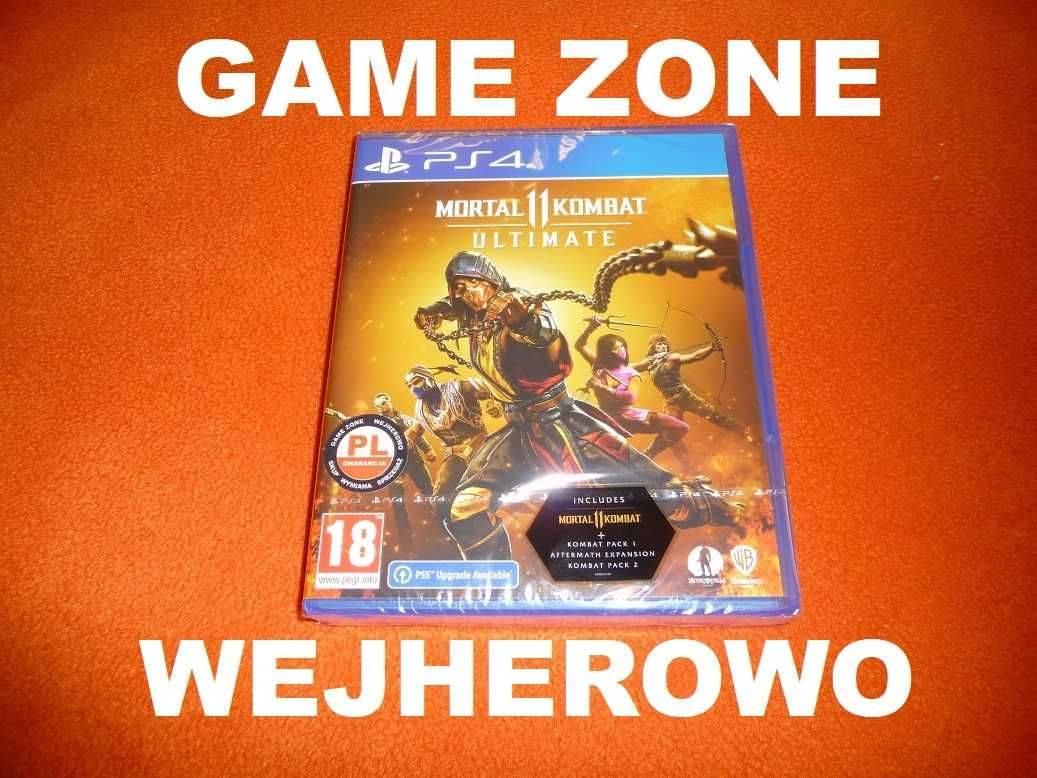 Mortal Kombat 11 Ultimate PS4 / Slim / Pro / PS5 PŁYTA PL Wejherowo