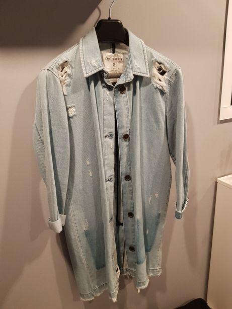 Jeansowa kurtka katana Zara S/M