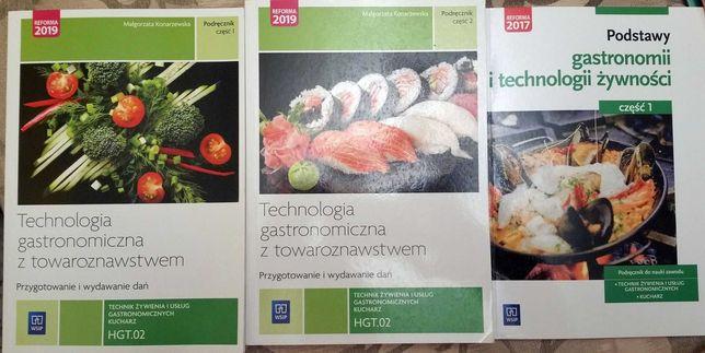 Technologia gastronomiczna Cz1 + Cz2 i Podstawy Gastronomii  KOMP