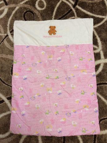 одеялко в манеж 250 рублей