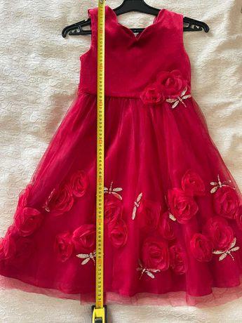 Нарядное платье Monsoon на девочку 7-9 лет