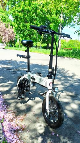 Электровелосипед Zhengbu D6 White + багажник в подарунок