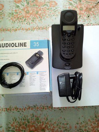 Telefon Stacjonarny AUDIOLINE 35 Bezprzewodowy NOWY