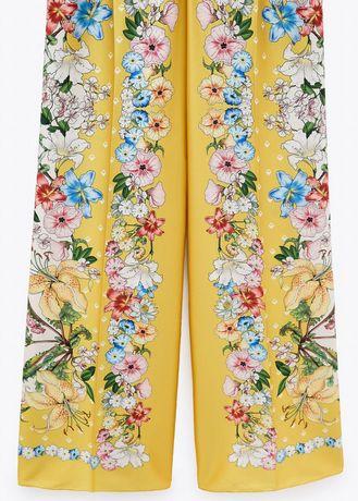 Spodnie o oryginalnym wzorze i kolorze NOWE