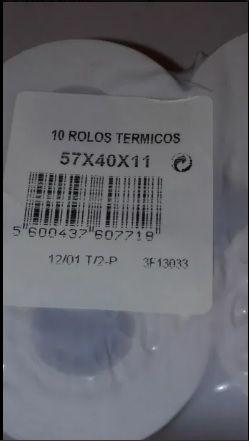 Rolos Térmicos (57x40x11) - 10 Unidades