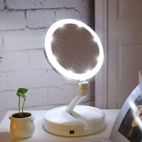 Зеркало My Foldaway MirrorЗеркало с подсветкой для макияжа