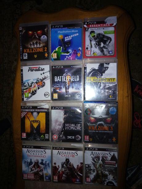 Vendo jogos ps3.