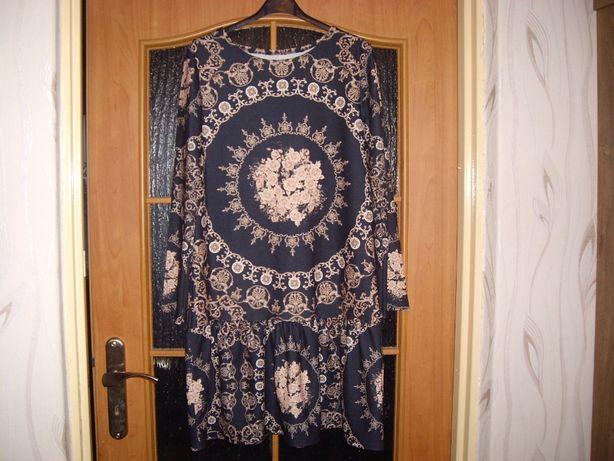 Sukienka, tunika w stylu boho.