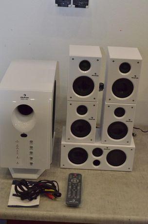 Kolumny głośniki aktywny zestaw kina domowego 5.1 Auna Areal 525WH