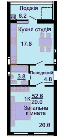 Евродвушка ЖК Львовский маеток в Готовом доме. Начинайте делать ремонт