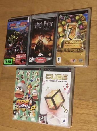 5 jogos para PSP (Playstation Portable)