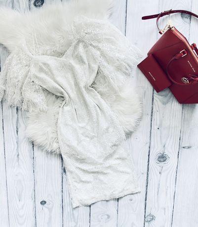 Nowa sukienka TrendyOl 38 M koronka slub cywilny poprawiny