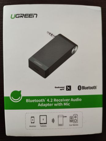 Adapter Bluetooth z mikrofonem Ugreen Aptx HD HiFi