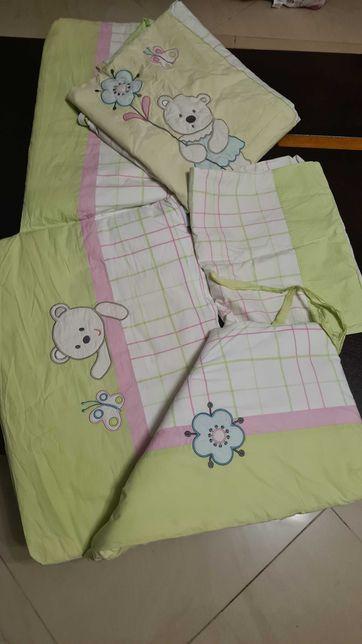 Komplet pościeli dziecięcej do łóżeczka Feretti antyalergiczna