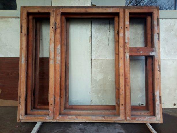 Окна новые деревянные