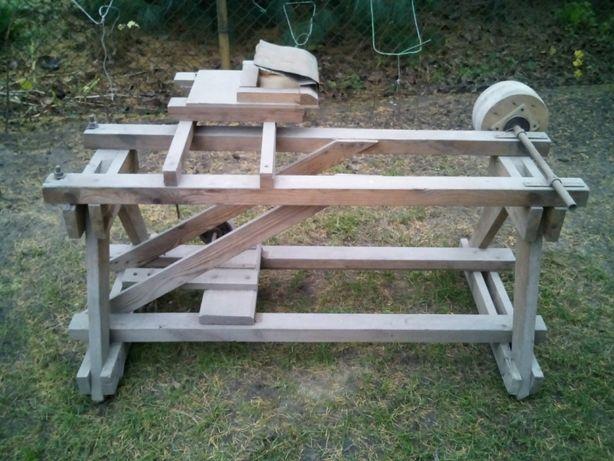 szlifierka-stojak drewniany do szlifierki