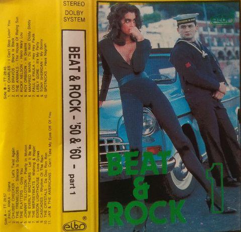 Kaseta Beat & Rock - Lata 50 i 60-te