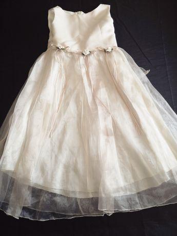 Vestido de cerimónia de menina 3/4 anos