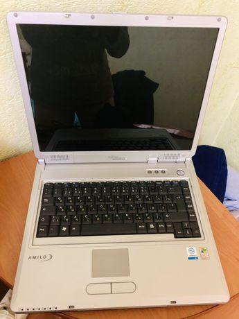 Продам ноутбук fugitsu siemens б/у, на запчасти