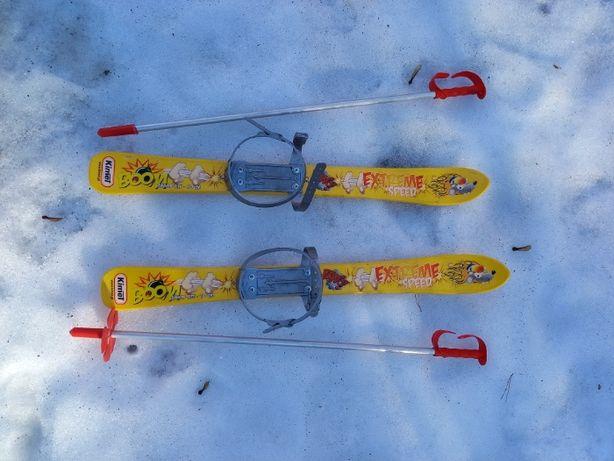 narty dla dziecka - plastikowe