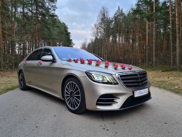 Auto do ślubu Mercedes Klasy S/GLE/GLC