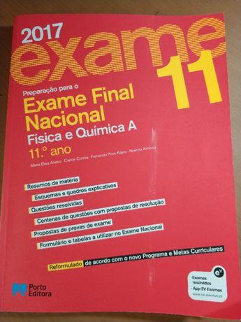 Livro Preparação Exame - Física e Química 2017