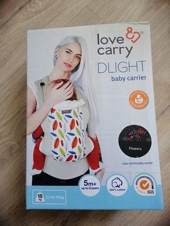Слинг-рюкзак, эрго рюкзак love&carry dlight