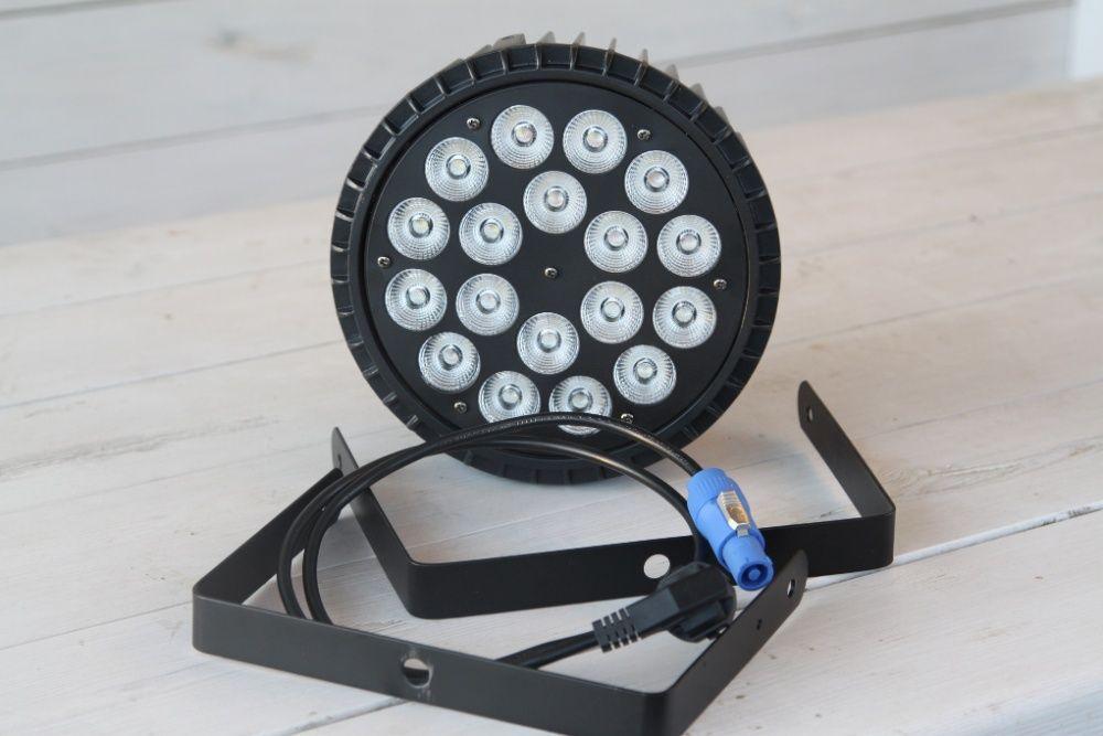 Светодиодный светильник Par 18х18 RGBWA + UV