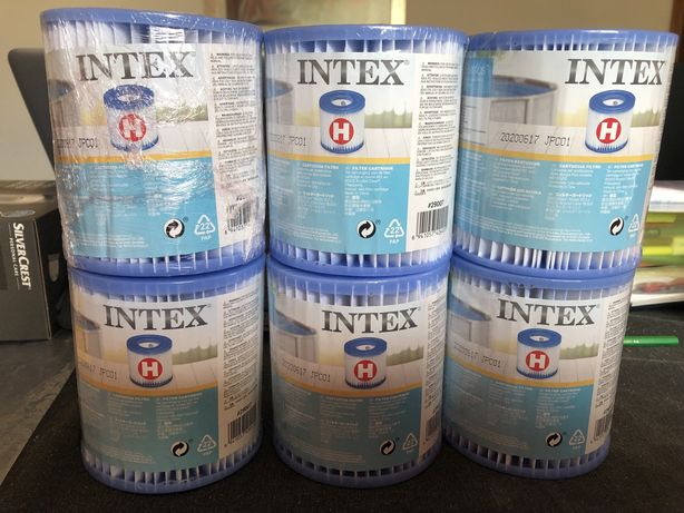 Piscina filtros Intex tipo H