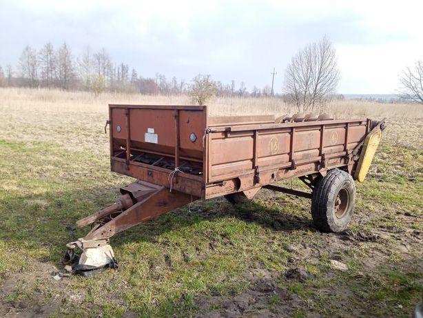 Rozrzutnik, Platforma, Przyczepa Rosyjski 4 tony