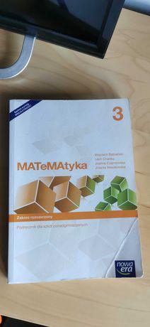 Matematyka 3 poziom rozszerzony Nowa Era