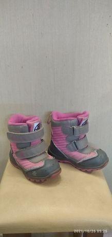 Детские зимние термо ботиночки