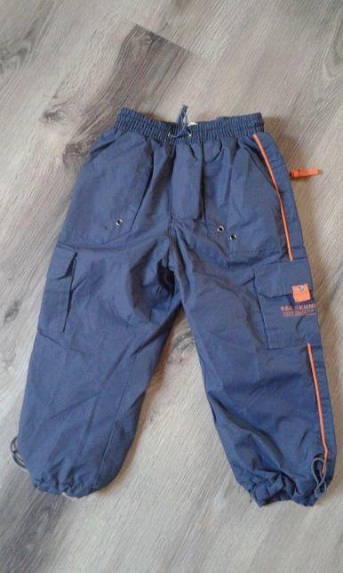 Spodnie chłopięce, ocieplane, rozmiar 98 SPORT WEAR